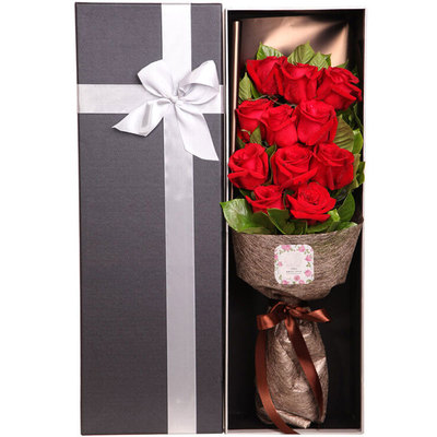爱情勿忘我 (11 红玫瑰 礼盒 爱情 生日 情人 圣诞 七夕 圣诞)