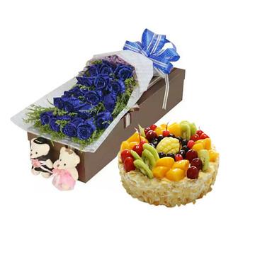 朴素爱情 12寸蛋糕