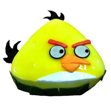 黄色愤怒的小鸟 10寸
