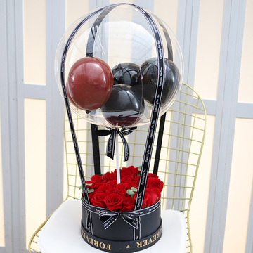 抖音气球花束款式一