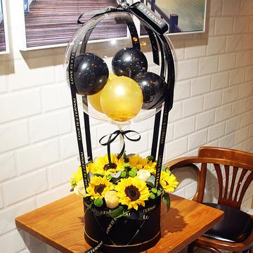 抖音气球花束款式二