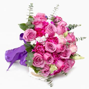 燕尔新婚-新娘手捧花