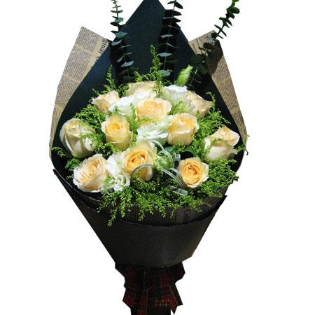 香槟玫瑰的花语,香槟玫瑰多少钱