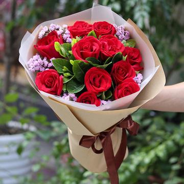 情人节玫瑰花束?