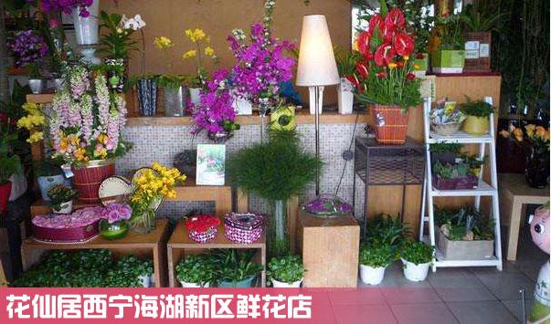 西宁海湖新区鲜花店