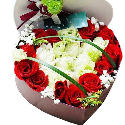 心中最爱的你 (红 白玫瑰 爱情 友情 生日 教师 七夕 圣诞)