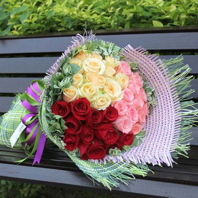 无可取代 (红玫瑰、戴安娜玫瑰、香槟玫瑰 爱情 友情 朋友 生日 情人 七夕 圣诞)