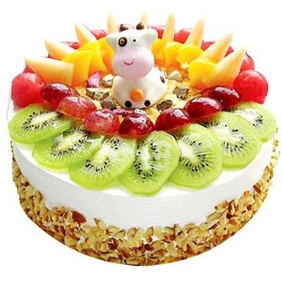 卡通水果蛋糕 10寸