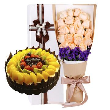 生日快乐 8寸蛋糕