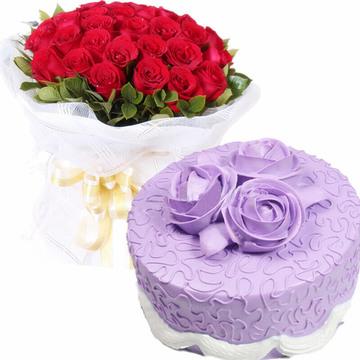 柔柔月光 12寸蛋糕