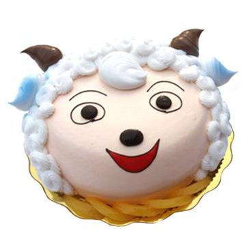 微笑小羊 8寸