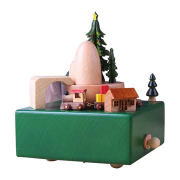 圣诞火车八音盒
