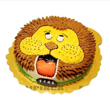 威武狮子 12寸