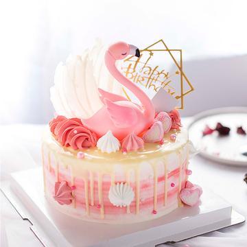 火烈鸟ins网红蛋糕 14寸